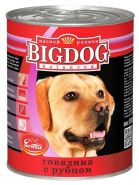 Зоогурман BIG DOG Консервы для собак Говядина с рубцом (850 г)