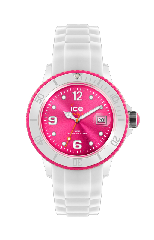 Ice-White 2012 - White - fluo pink