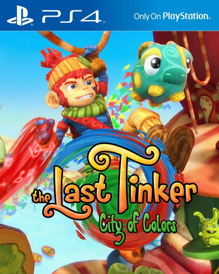 Игра The Last Tinker. City of Colors (PS4)