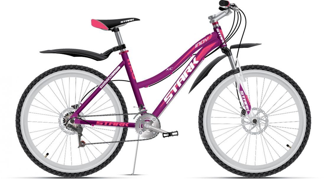 Женский велосипед STARK Indy Lady Disc (2016)