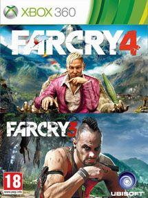 Игра Far Cry 3 + Far Cry 4 (Xbox 360)