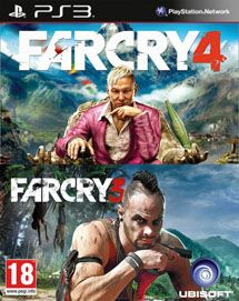 Игра Far Cry 3 + Far Cry 4 (PS3)