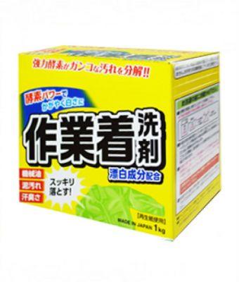 Японский стиральный порошок с отбеливателем и ферментами для сильных загрязнений Mitsuei 1кг