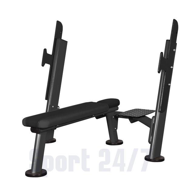 Скамья для жима горизонтальная AFB102 Spirit Fitness