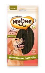 """Мнямс """"Зубные палочки для собак с эвкалиптом"""", 6 шт х 20 г, 12 см"""