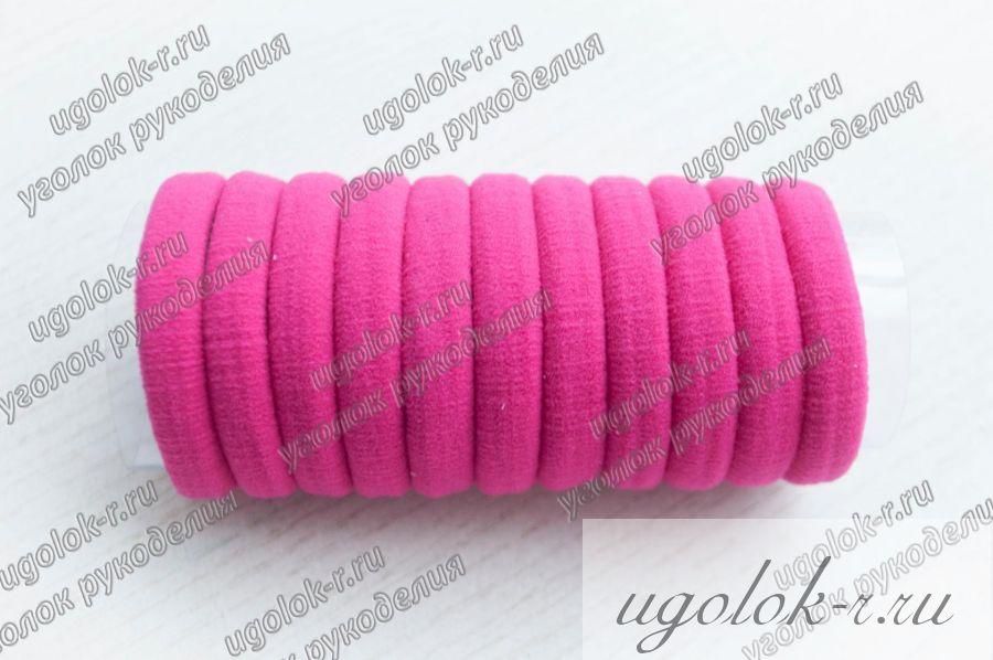 Резинка бесшовная 4 см (малиновая)