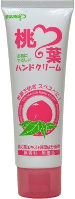 Увлажняющий крем для рук с экстрактом листьев персика Salad town Wakahada Monogatari 80 гр