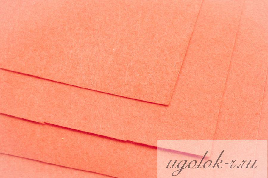 Фетр (оранжевый)