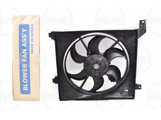 Вентилятор охлаждения в сборе HYUNDAI Coupe, Tiburon 253802C000 HC253802C000 Hcc/Halla