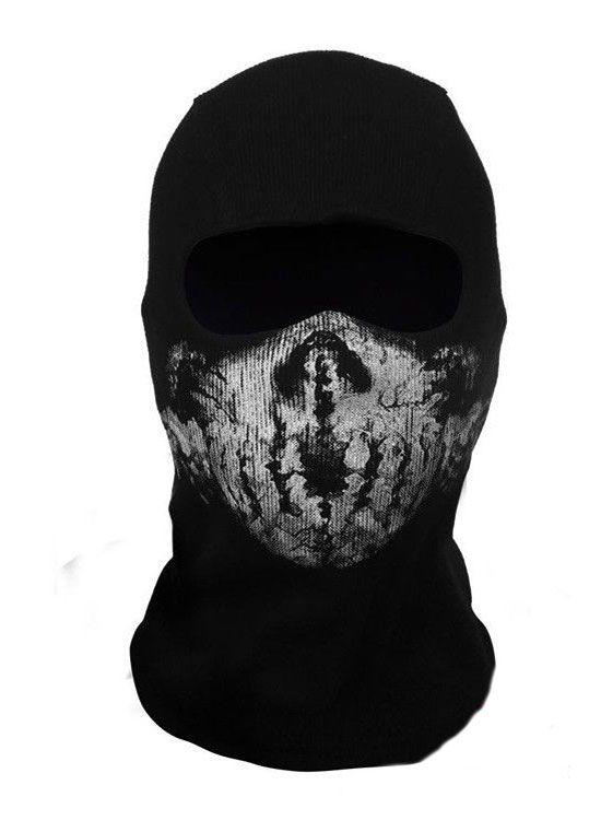 Балаклава call of duty (Skull Mask)