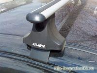 Багажник на крышу Kia Rio, Атлант, аэродинамические дуги