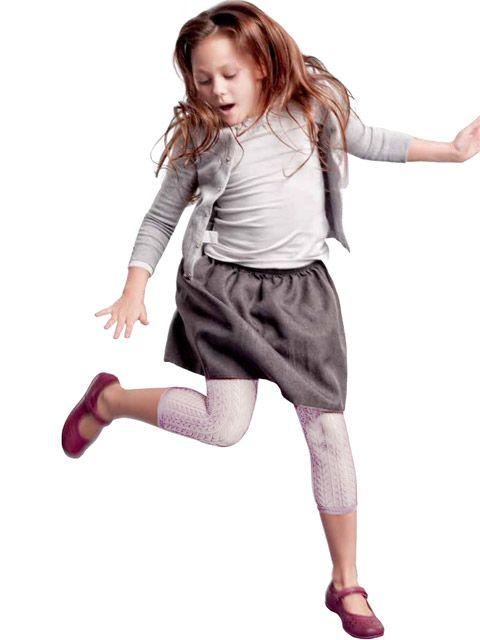 Леггинсы для девочки Gatta цвет белый