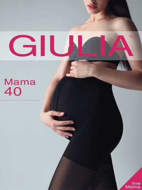 Черные колготки для беременных на размер 4 (L)