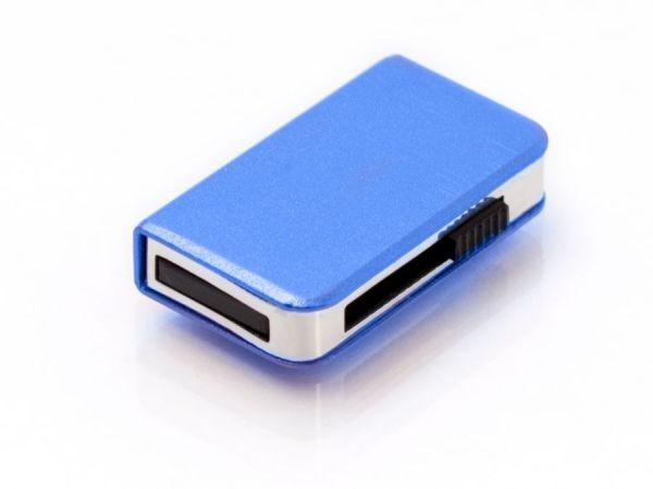 16GB USB-флэш накопитель Apexto UM9013, книга слайдер, синяя