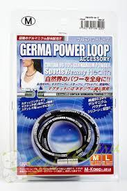 Японское германиевое ожерелье с антистатическим эффектом