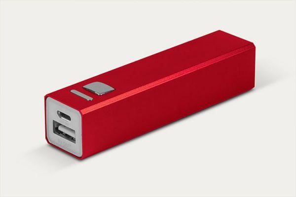 3000mAh Внешний аккумулятор  Apexto  APA1022102 красный