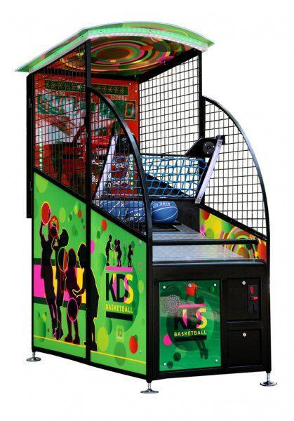 """Игровой автомат - """"Kids Basketball"""" 210 x 160 x 80 cm, (жетоноприемник) 57.012.00.0"""