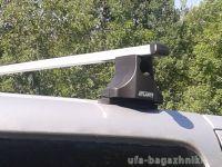 Багажник на крышу на Hyundai Grand Starex, Атлант, прямоугольные дуги