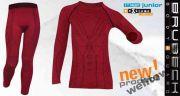 брубек термобелье Комплект детский (дев) BRUBECK wool merino купить в интернет магазине