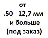 Бланки ствольные заготовки от 12.7 мм - .50 и больше