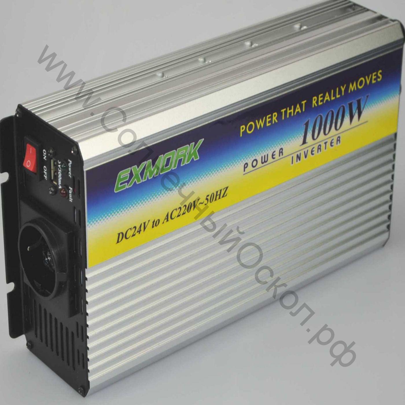 Инвертор модифицированный синус TWM-1000 24V