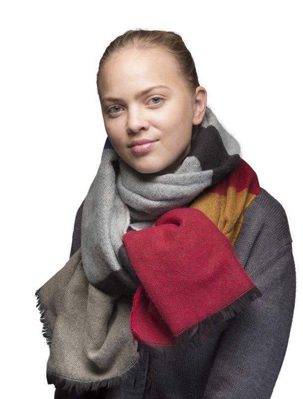 "Шерстяной шарф ""Wahlsten"" 30 х 220 см"