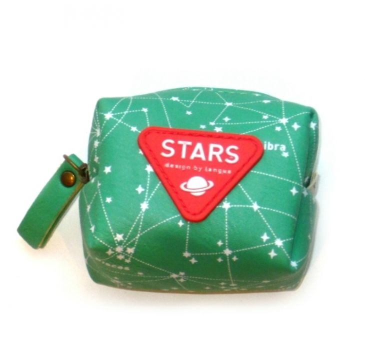 Кошелек для мелочи «Stars» - Green