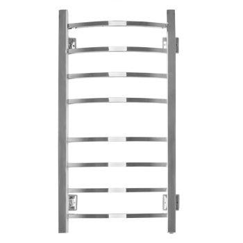 Электрический полотенцесушитель Energy GRAND 800×400, квадратные выпуклые перекладины