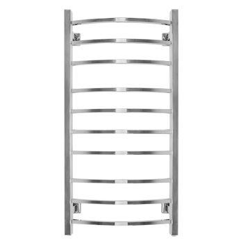 Электрический полотенцесушитель Energy GRAND 1200×600, квадратные выпуклые перекладины