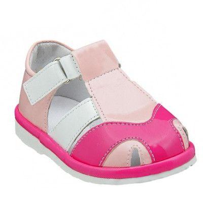 Туфли розовые для девочки на лето