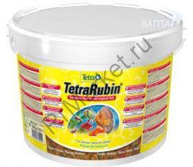 TetraRubin корм в хлопьях для улучшения окраса всех видов рыб