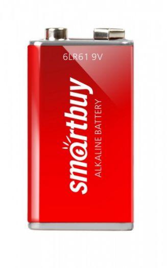 Батарейка KРОНА алкалиновая Smartbuy 6LR61/1B