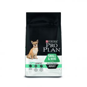 ПРО ПЛАН для собак мелких пород с чувствительным пищеварением, ягненок с рисом, 7 кг
