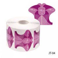 Универсальные одноразовые формы (бумажные, на клейкой основе) JT-04, 500 штук