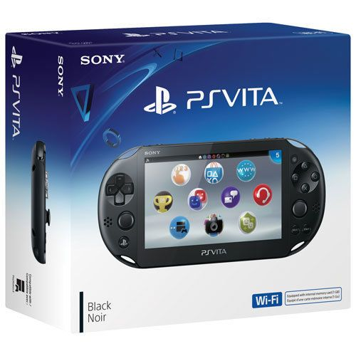 Игровая приставка Sony PS Vita slim WIFI PCH-2006 Black