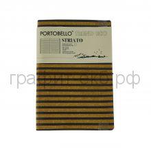 Книжка зап.Portobello TREND А5 Eco Striato 192стр. LXX1425152-020