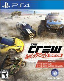 Игра The Crew Wild Run Edition (PS4)
