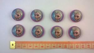 Кабошон (пластик) 22 мм, 1уп=10шт, Арт. КБП0148