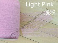 кружево гипюр розовое 35мм