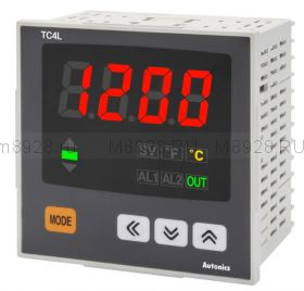 Терморегулятор TC4L 96х96мм -50°С  +1200°С