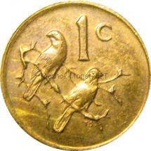 ЮАР 1 цент 1975 г.