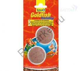 "TetraGoldfish Holiday корм для золотых рыб ""отпуск 14 дней"" твердый гель 2х12 г"