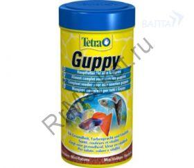 TetraGuppy корм в хлопьях для гуппи