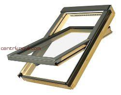 Мансардное окно Fakro FTP-V L3 ПРОФИ триплекс с легкоочищающимся покрытием