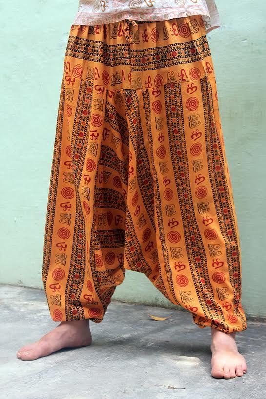 Мужские штаны алладины Символ ОМ (отправка из Индии)