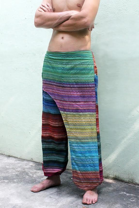 Оригинальные штаны с запашным поясом xxx