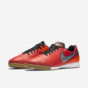 Игровая обувь для зала NIKE TIEMPO GENIO II LEATHER IC 819215-608 SR.