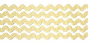 `Тесьма вьюнчик, ширина 5 мм, цвет: кремовый