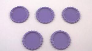 `Крышка, металл, внутренний диаметр 25 мм, наружный 31 мм, цвет №32