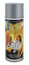 Краска MASTON GT термостойкая серебряная 600*C 400ml
